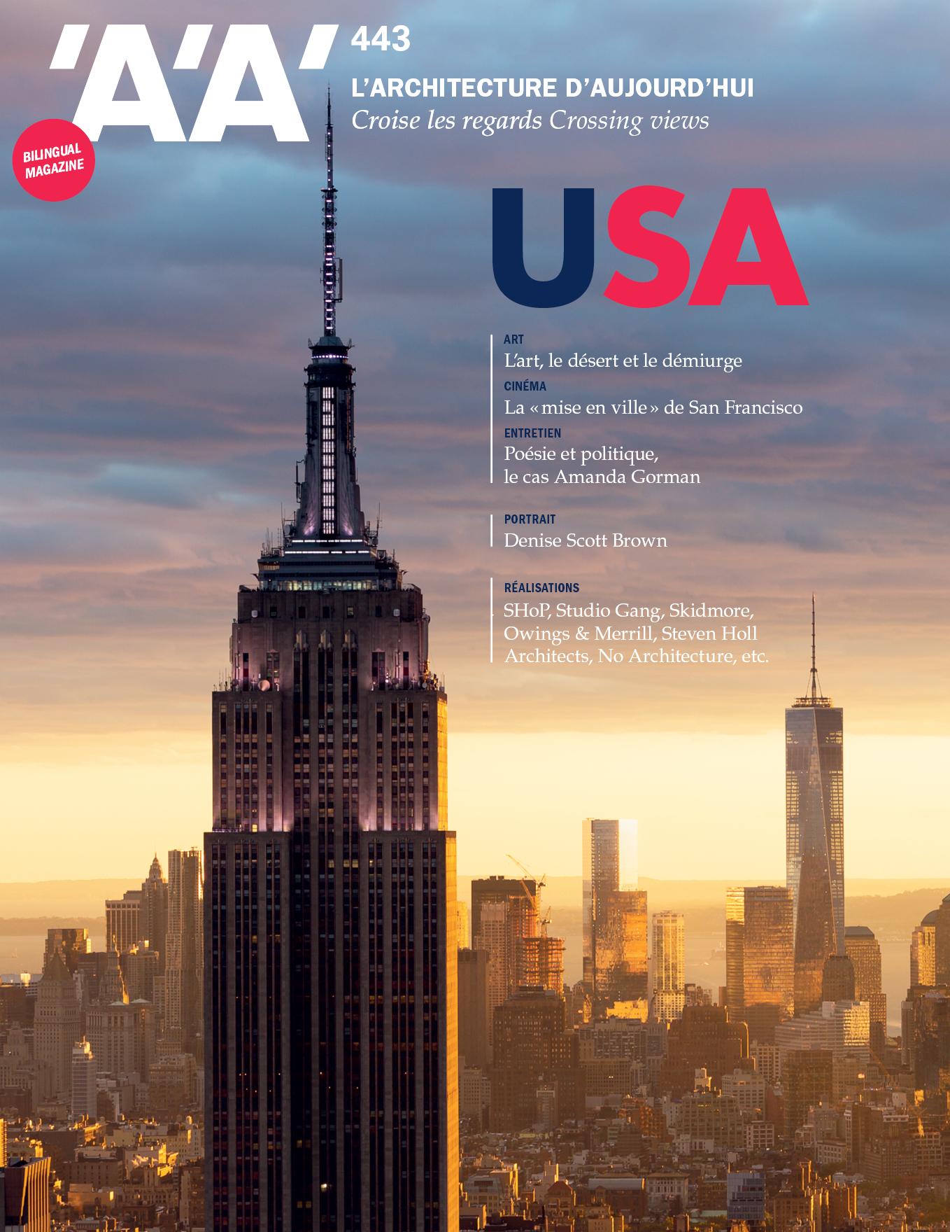 Publication in l'Architecture d'Aujourd'hui